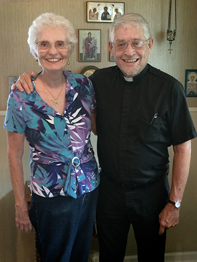 Father Bill and Khouria Dianna