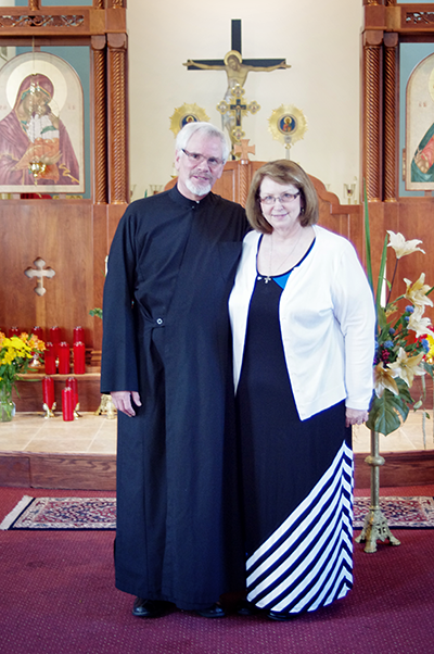 Father David and Khouria Linda